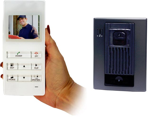 Front door intercom wireless front door intercom home for Front door video intercom