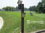 Solar Powered Golf Course Intercom